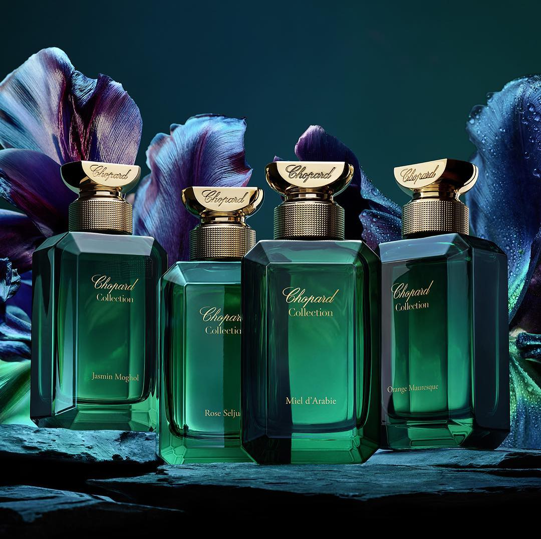 Chopard Gardens of Paradise Collection Banner