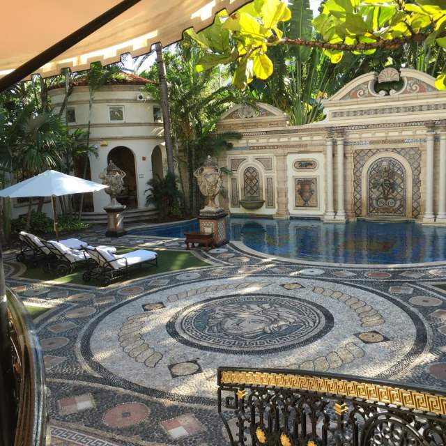 Gianni-Versace-Casa-Casuarina-Daytime-Million-Mosaic-Pool-and-Loungers.
