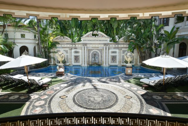 Gianni-Versace-Casa-Casuarina-Daytime-Million-Mosaic-Pool-and-Loungers