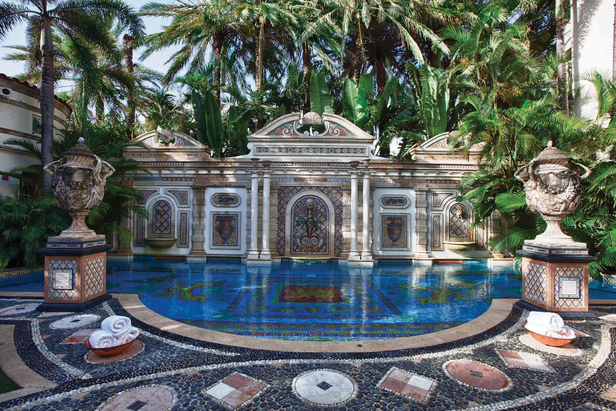 Gianni-Versace-Casa-Casuarina-Daytime-Million-Mosaic-Pool