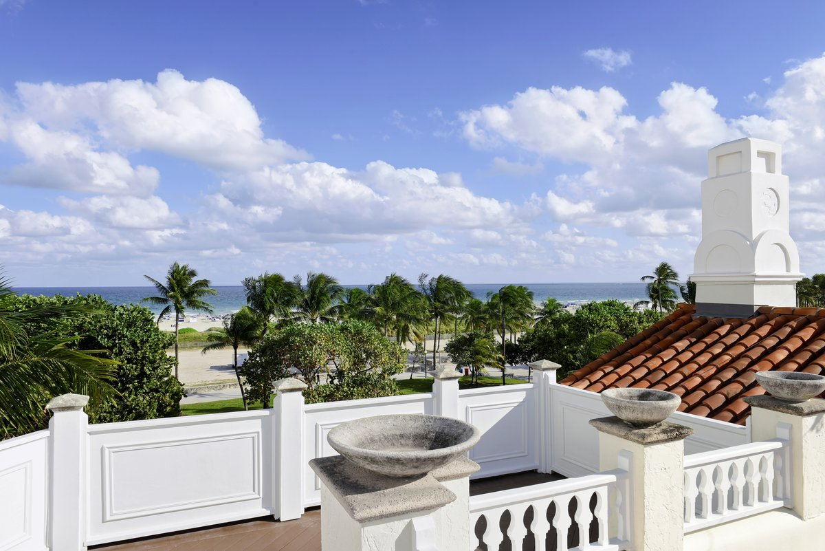 Versace and Victor Hotels Miami Beach Florida