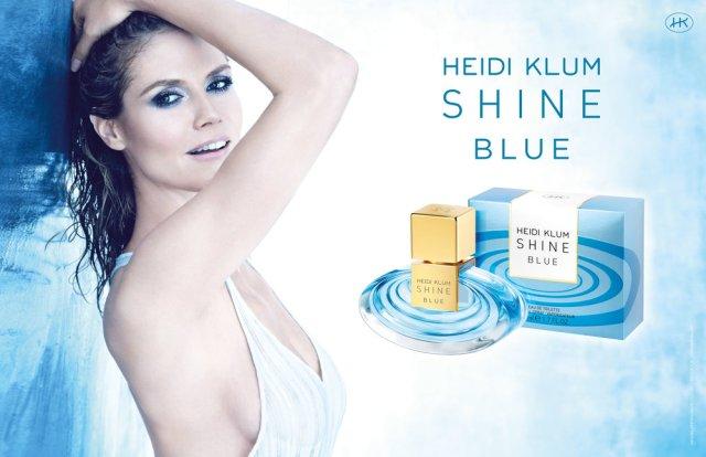 Heidi Klum Shine Blue Banner