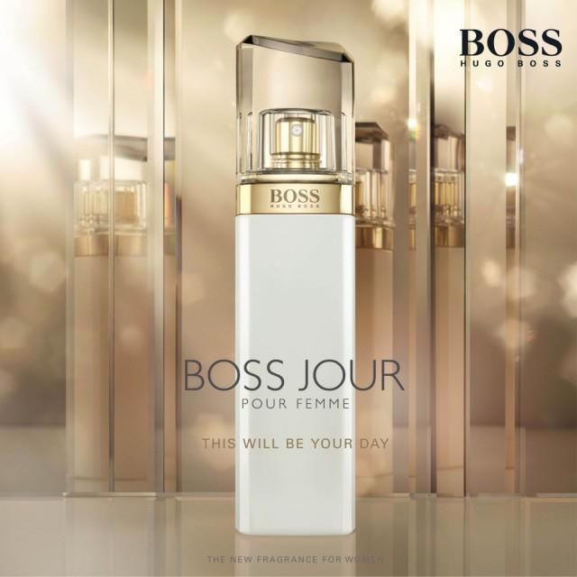 Hugo Boss Jour Pour Femme Flacon Ad