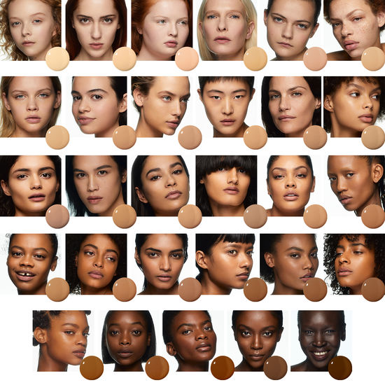 Marc Jacobs Shameless Foundation Colors