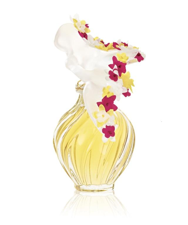 Nina Ricci L'Air du Temps Lalique Couture Florale Perfume Flacon
