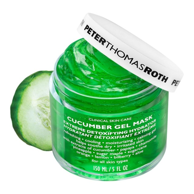 Peter Thomas Roth Cucumber Gel Masque Jar Open