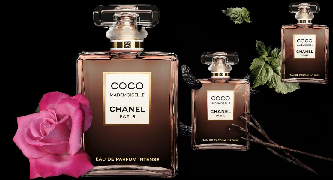 Chanel Coco Mademoiselle Eau de Parfum Intense Banner Notes
