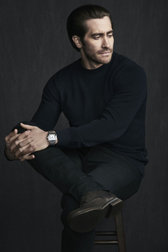 Jake-Gyllenhaal-for-Cartier-Santos-by-Matthew-Brookes