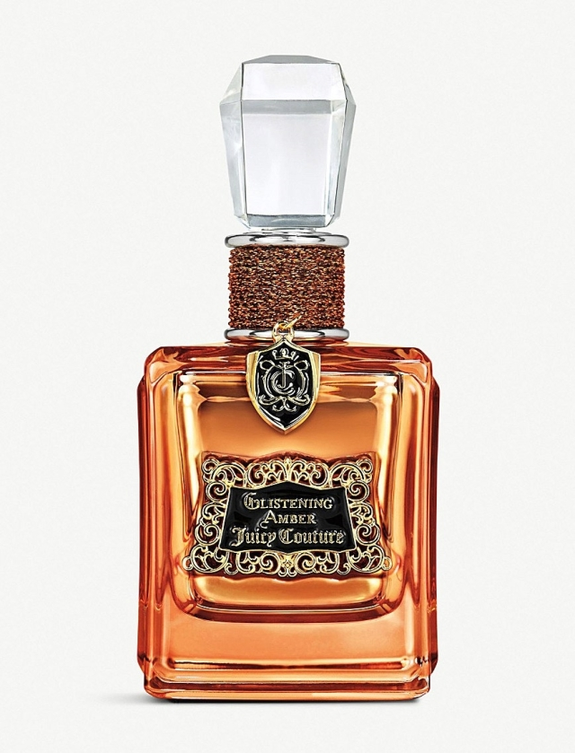 Juicy Couture Glistening Amber Bottle