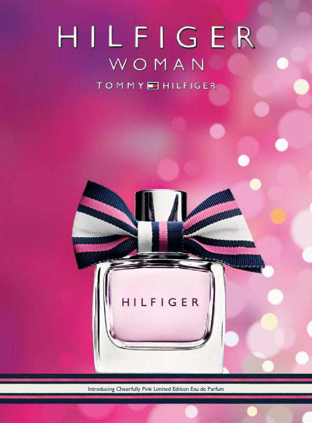 Tommy Hilfiger Cheerfully Pink banner
