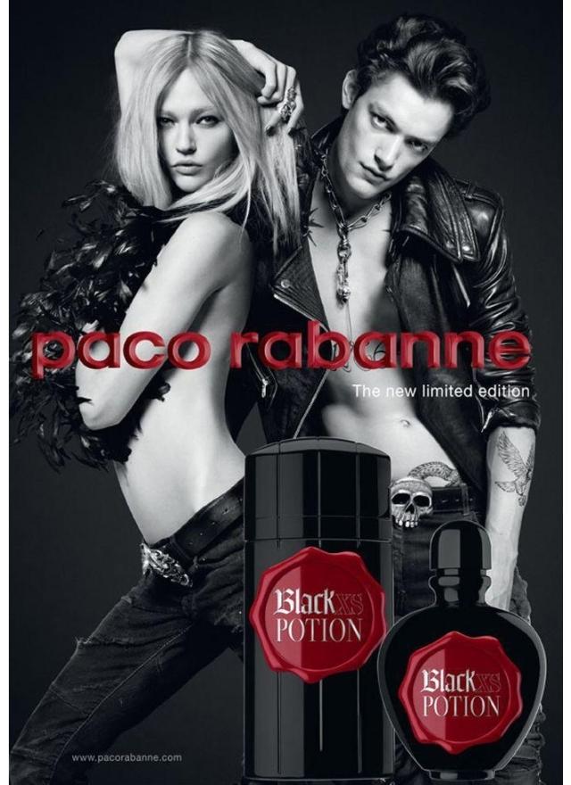 Paco Rabanne Black XS Potion Banner.