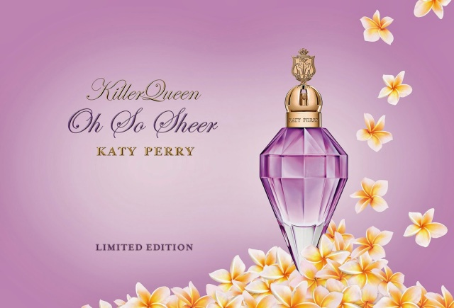 Katy Perry Killer Queen Oh So Sheer Banner