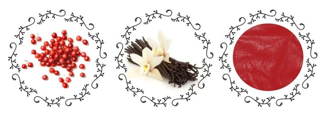 S.T Dupont Vanilla & Leather Ingredients
