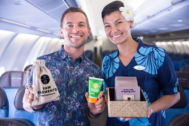 Verbod op zonnebrandcrème dat koraalrif aantast Hawaiian Airlines