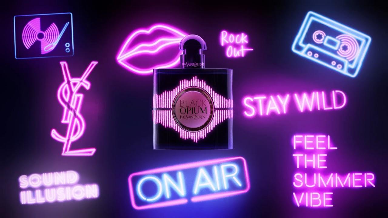 Yves Saint Laurent Black Opium Sound Illusion Video3