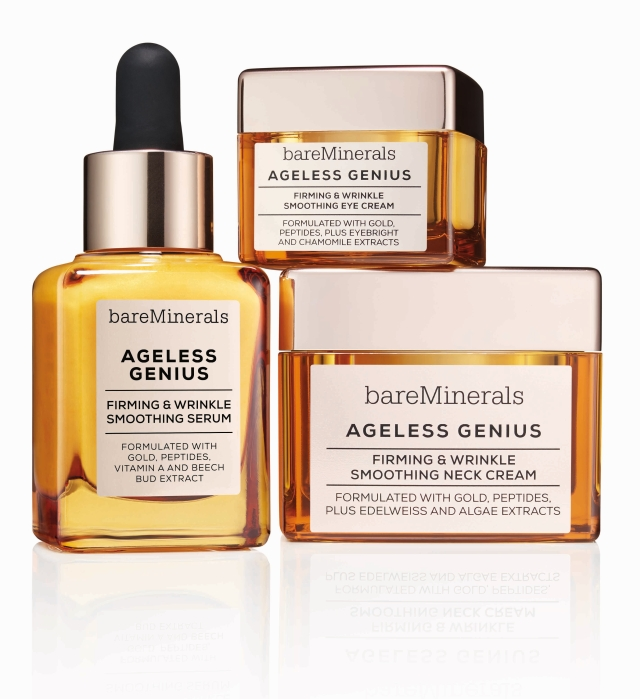 5bca955ade2e bareMinerals Ageless Genius Firming   Wrinkle Smoothing Eye Cream. bareMinerals  Ageless Genius skincare collection
