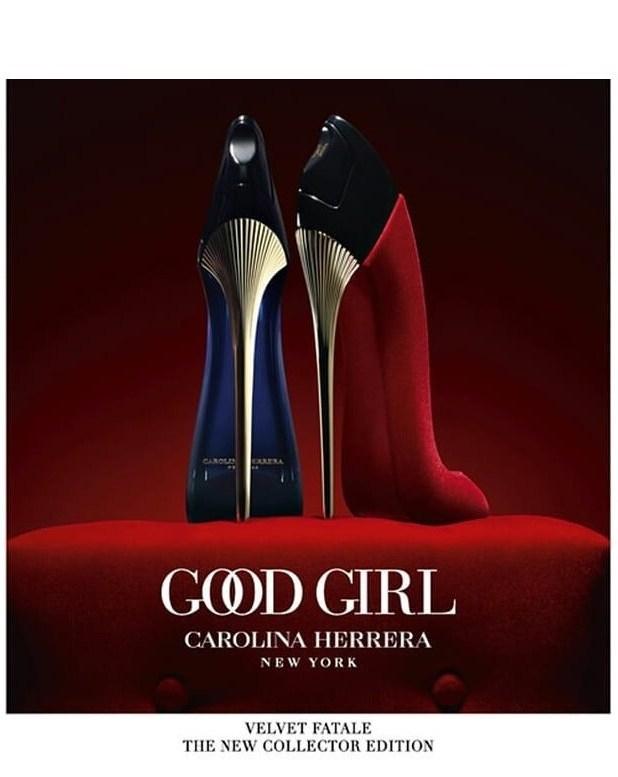 Carolina Herrera Good Girl Velvet Fatale Flacon Banner