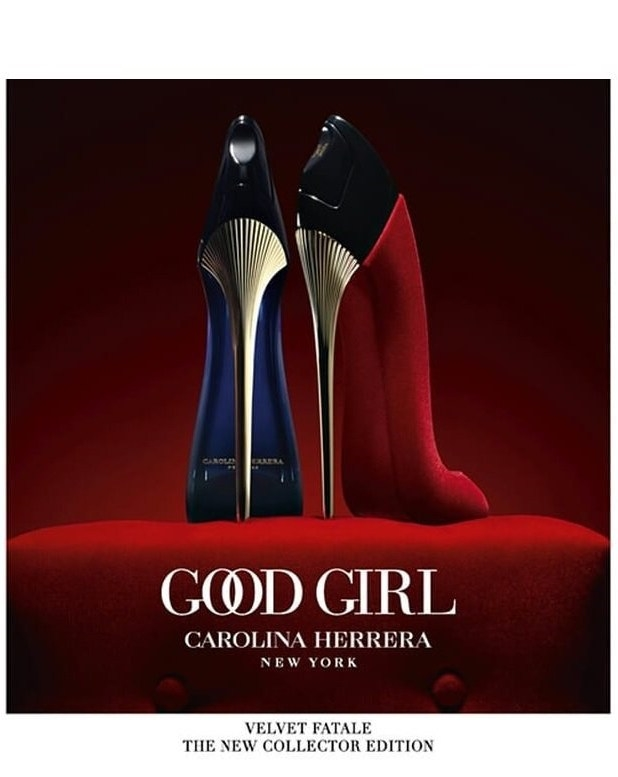 Carolina Herrera Good Girl Velvet Fatale Flacon Banner