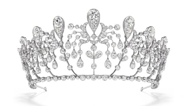 Chaumet 'Imperial Splendours' exhibition at the Palace Museum, Beijing Bourbon-Parma Tiara