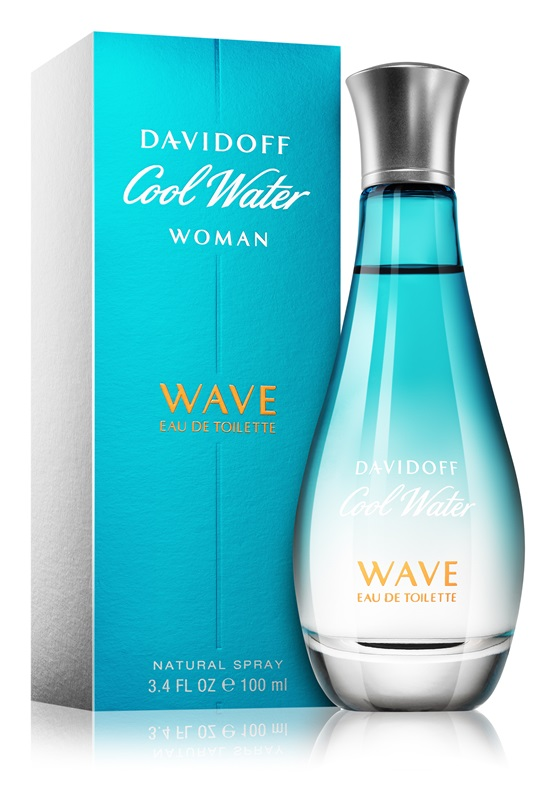 Davidoff Cool Water Wave for Women Flacon Box