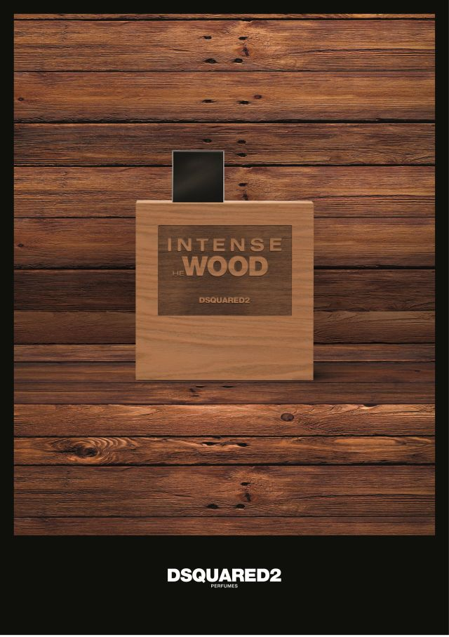 Dsquared² Intense He Wood Banner