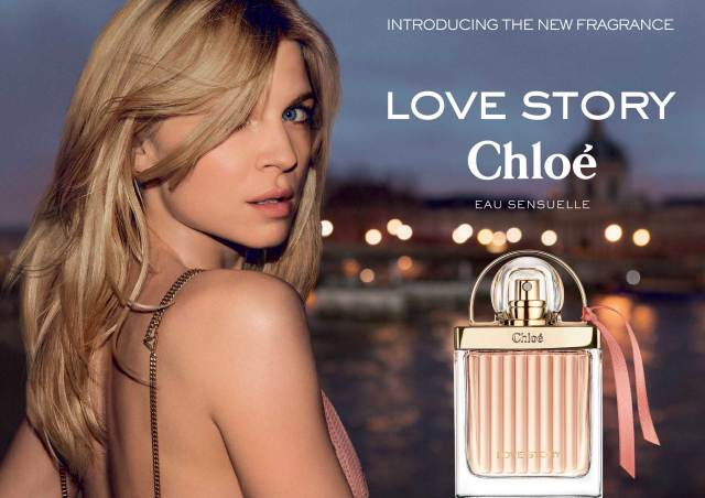 Chloe Love Story Eau Sensuelle Banner