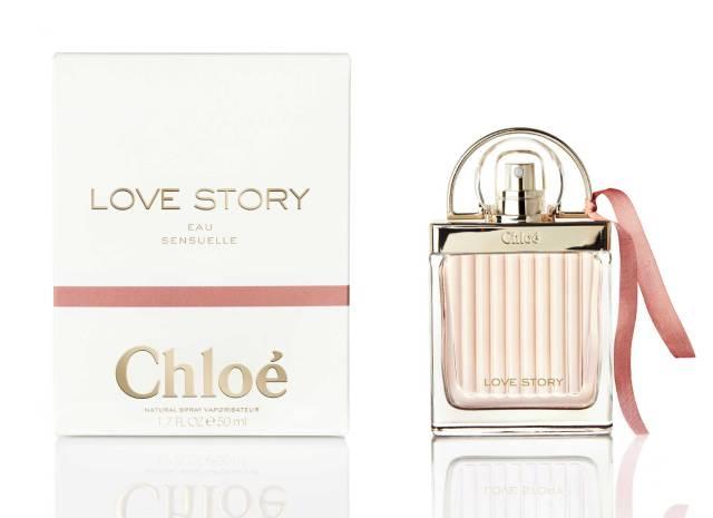 Chloe Love Story Eau Sensuelle Flacon