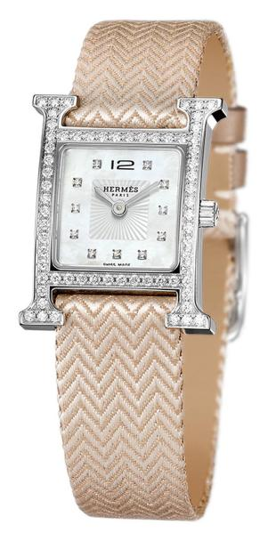 hermès-h-hour-pm-steel-_-diamonds-pink-silk