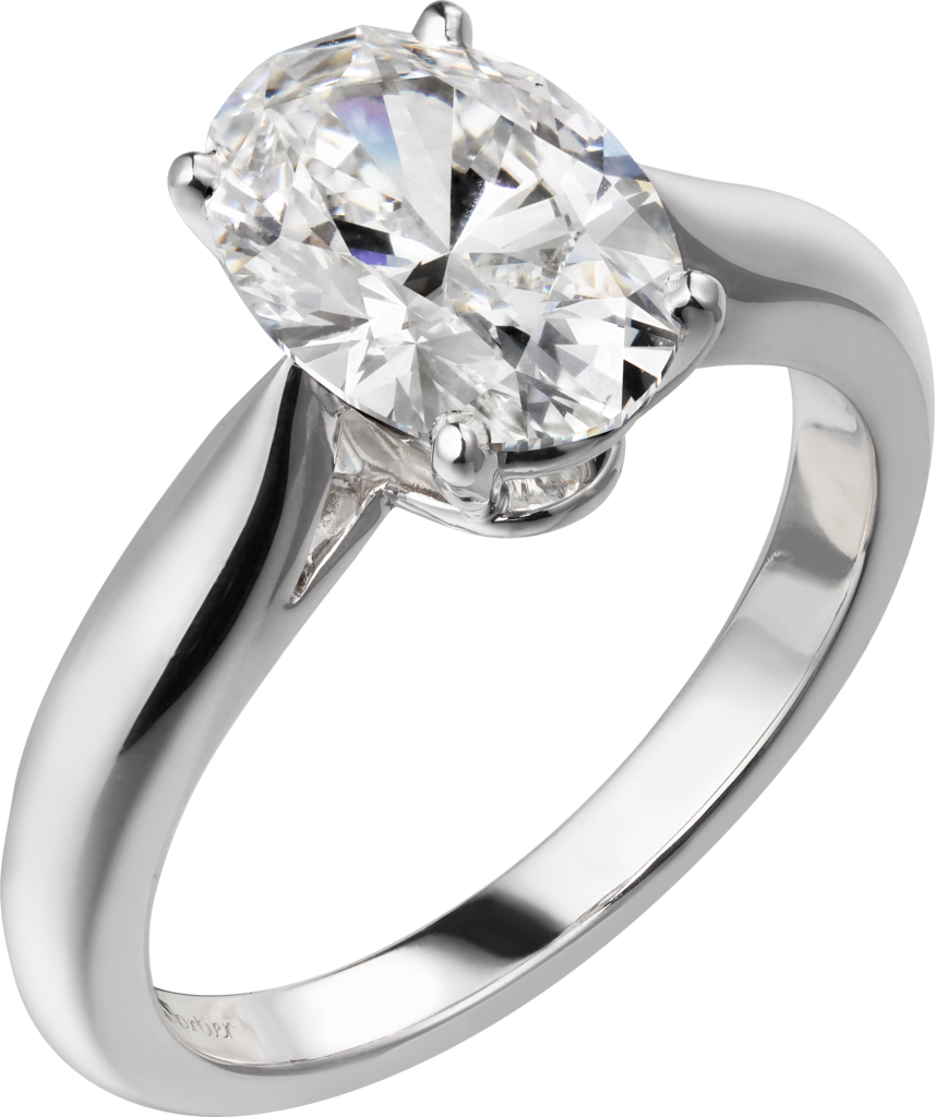 Cartier-1895-Solitaire-Platinum-Ring