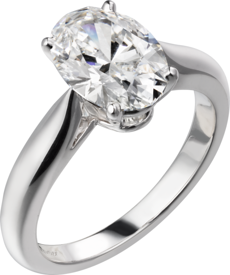 Cartier-1895-Solitaire-Platinum-Ring