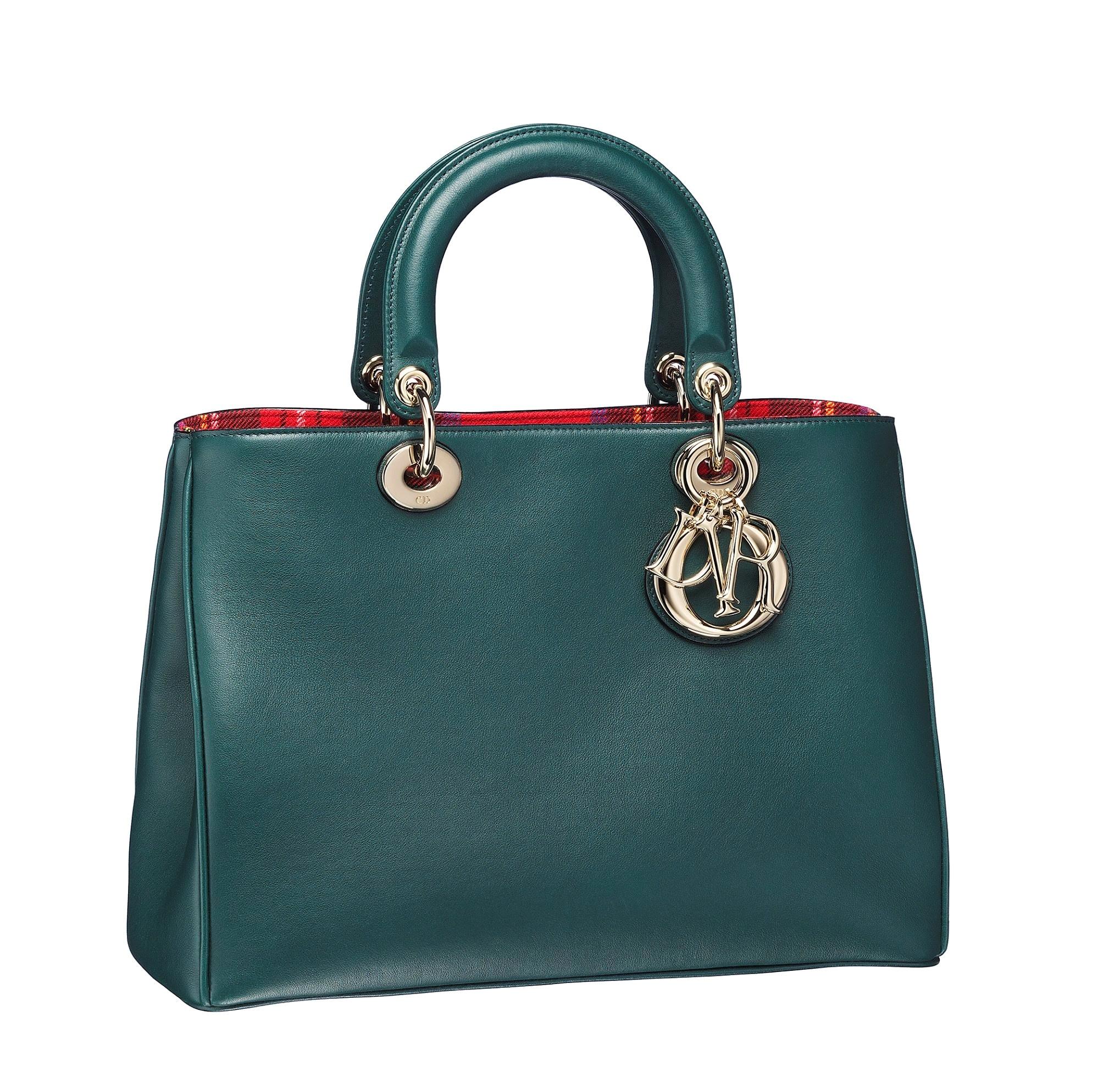 Christian-Dior-Diorissimo-bag-in-Vert-Anglais-calfskin