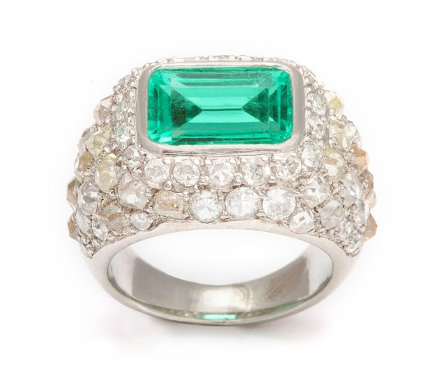 Rene-Boivin-Emerald-Diamond-Ring-in-Platinum-126757-85557