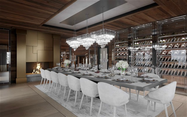 Ultima-Crans-Montana-Dining-Room