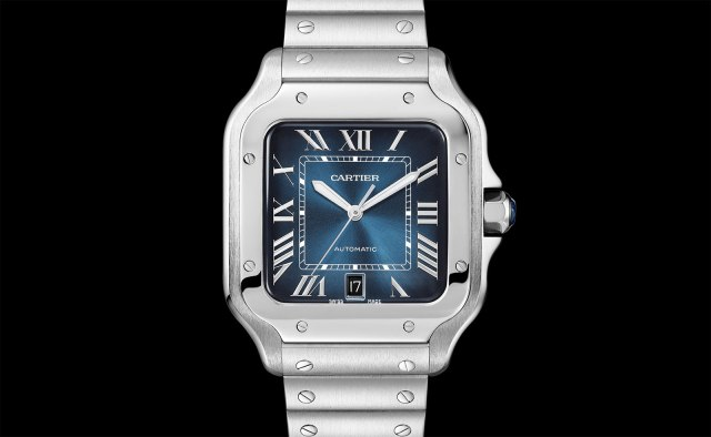 Cartier-Santos-Gradient-Blue-dial-1