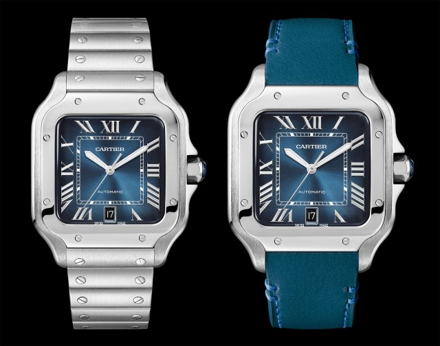 Cartier-Santos-Gradient-Blue-dial-2