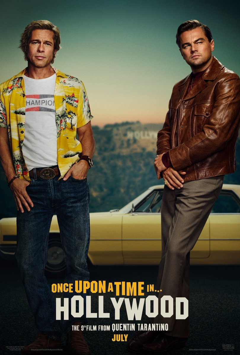 Once-Upon-A-Time-In-Hollywood-Quentin-Tarantino-Brad-Pitt-Leonardo-DiDaprio-Poster