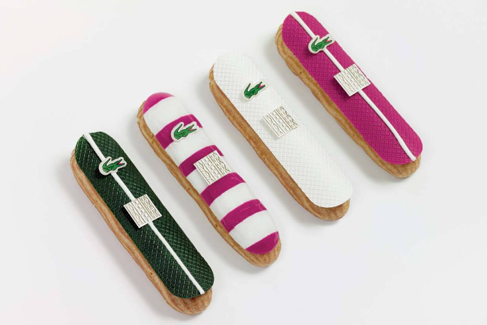 Lacoste-Maisons-Francaises-80th-Anniversary-Collection-Fauchon-Chocolate-Eclairs