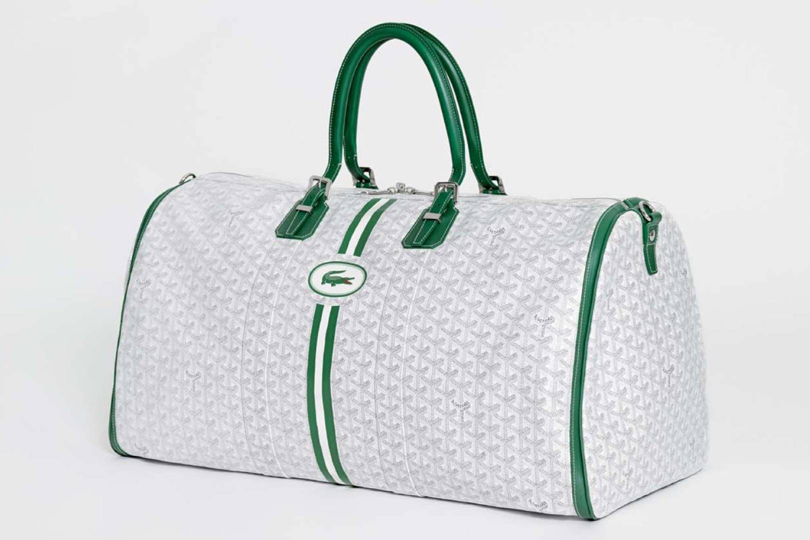 Lacoste-Maisons-Francaises-80th-Anniversary-Collection-Goyard-Travel-Bag