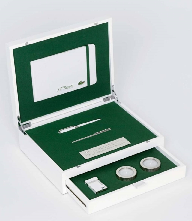 Lacoste-Maisons-Francaises-80th-Anniversary-Collection-S.T.-Dupont-Gift-Case