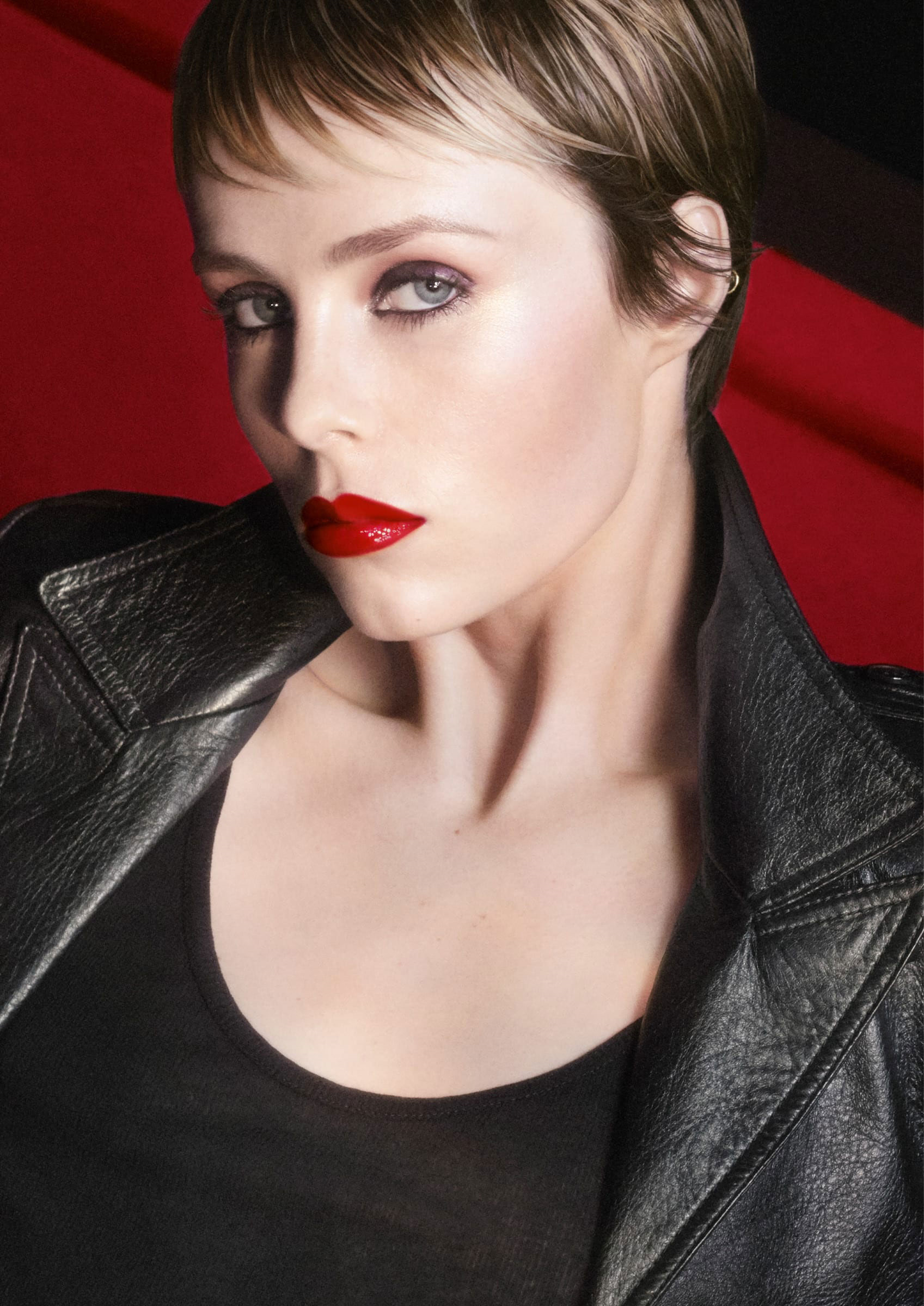 Yves-Saint-Laurent-Endanger-Me-Red-Lipstick-Collection-Edie-Campbell