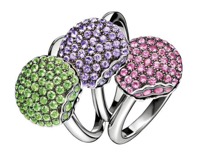 Boucheron-Mini-Macroon-Rings