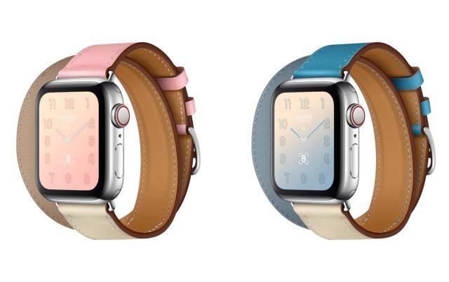 Apple-Watch-Hermès-Introduces-Pastel-Colours-On-Series-4
