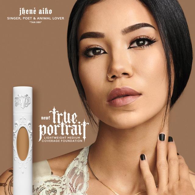 Kat-Von-D-True-Portrait-Foundation-Visual-Portraits-Jhené-Aiko