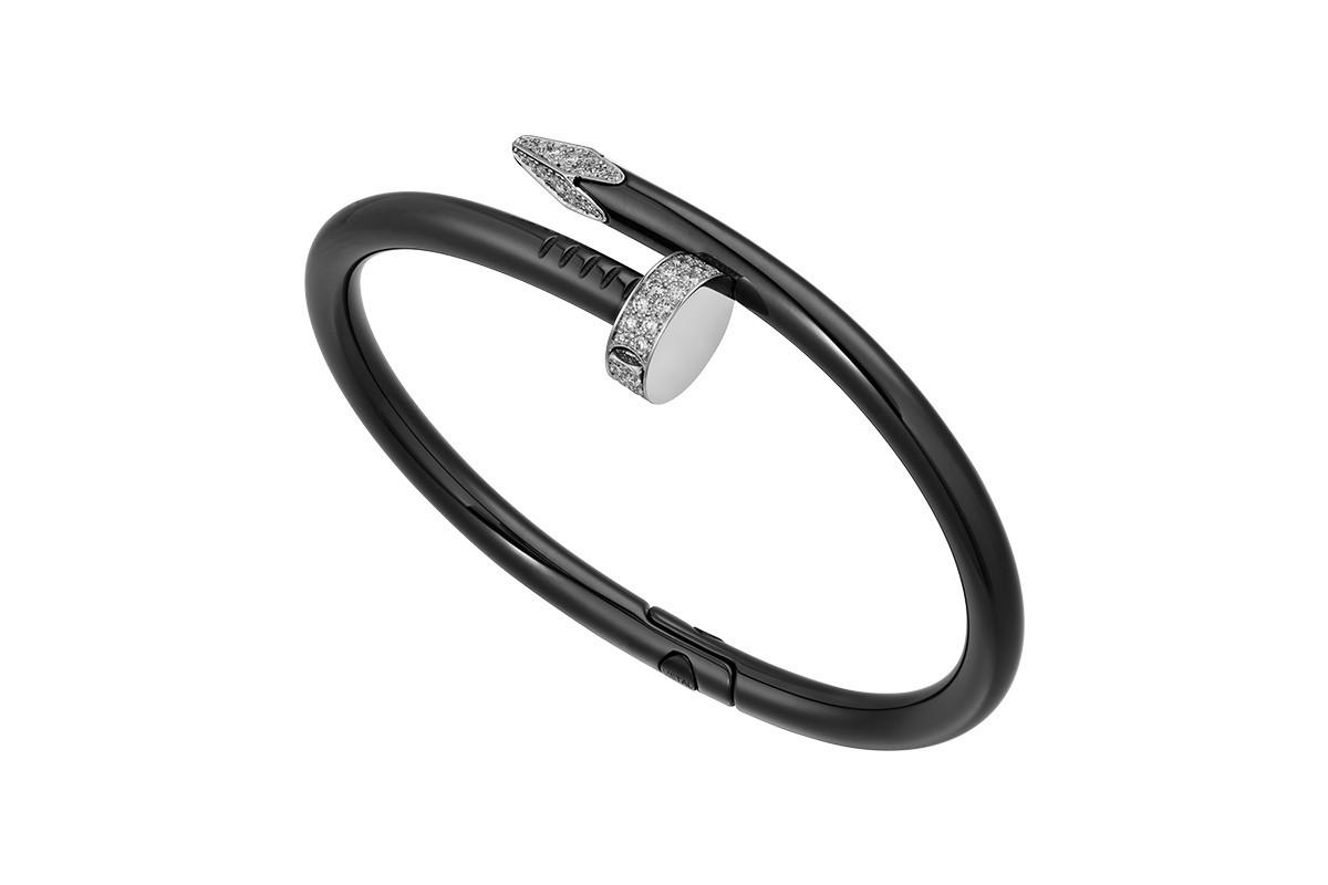 Cartier-Diamond-Encrusted-Black-Ceramic-Juste-un-Clou