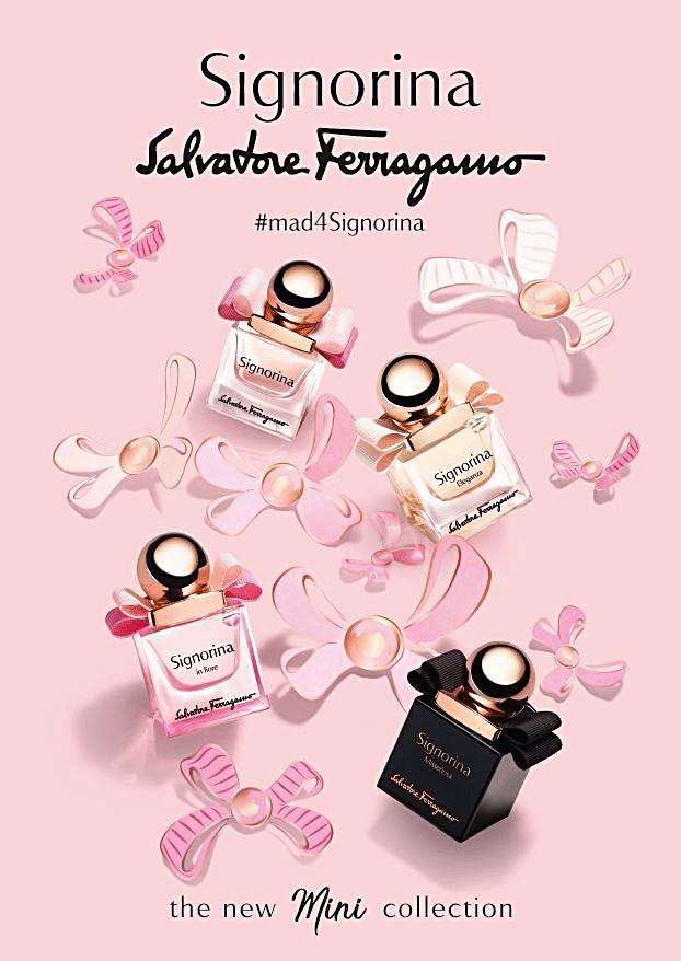 Salvatore-Ferragamo-Parfums-launches-new-Mini-Signorina-collection