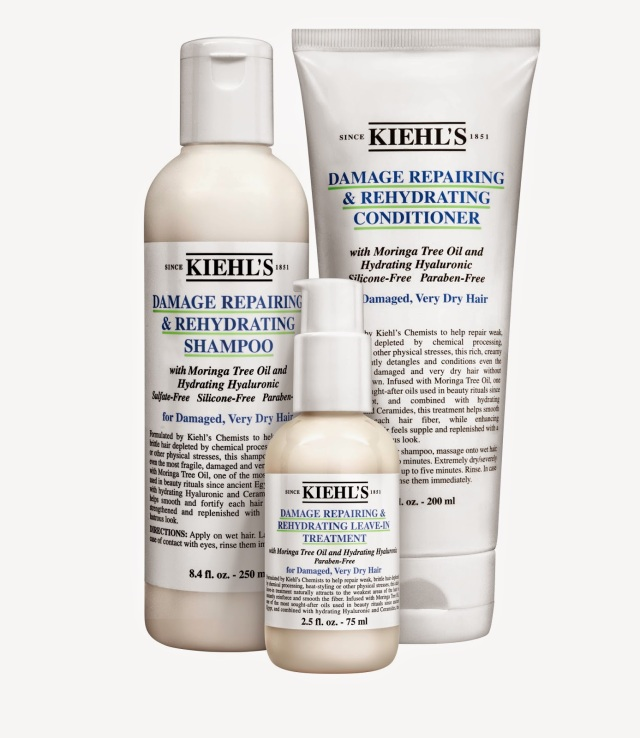 Kiehl's-Damaging-Repairing-and-Rehydrating-Hair-Collection