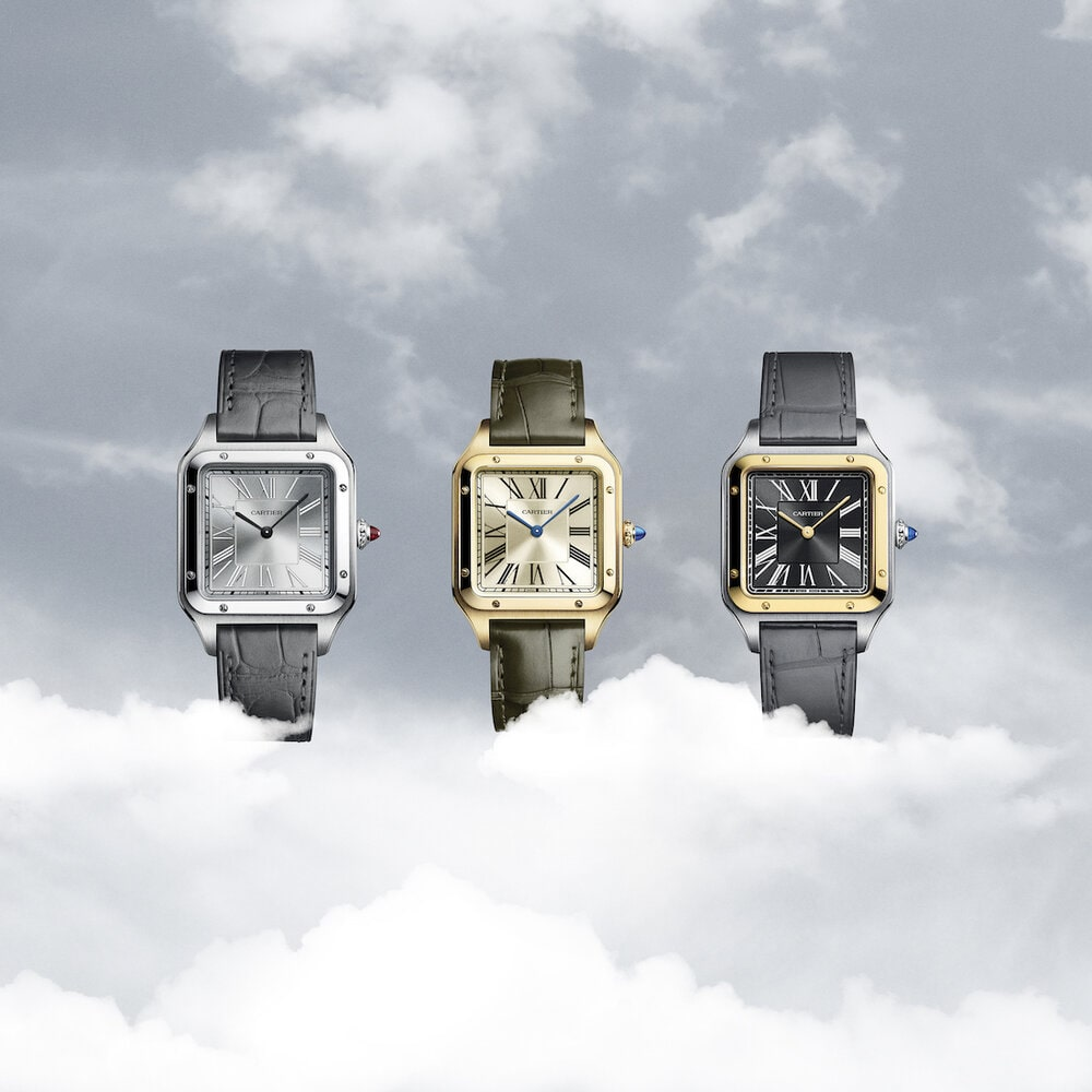 Cartier+Santos-Dumont+Engraved+Limited+Editions