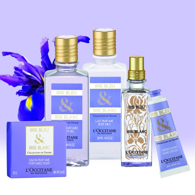 L'Occitane-Iris Bleu-aand-Iris-Blanc-Collection