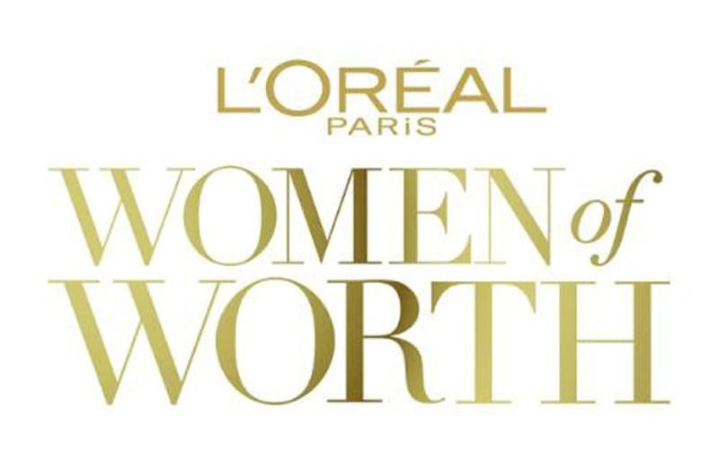 LOreal Paris Women of Worth Logo