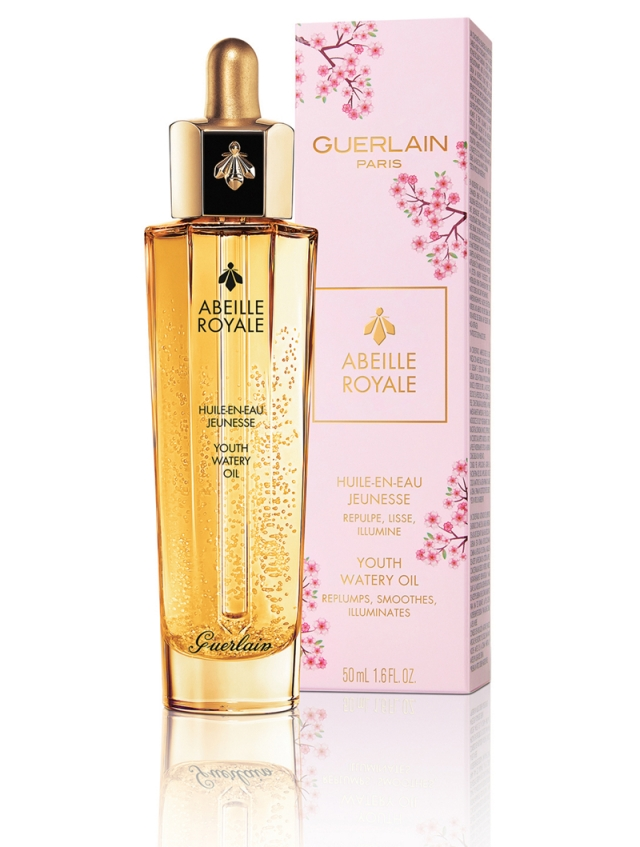Guerlain-Abeille-Royale-Cherry-Blossom-Youth-Watery-Oil